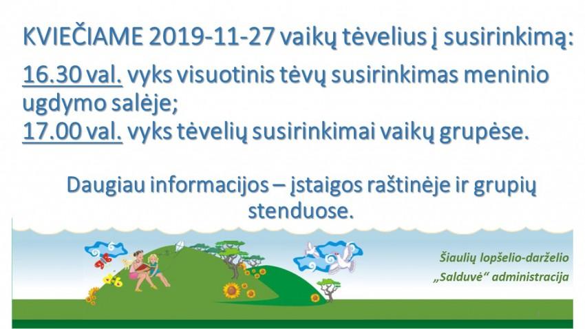 2019-11-27 SUSIRINKIMAS